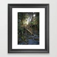 The Stair Framed Art Print