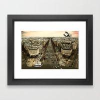 lobster in paris Framed Art Print