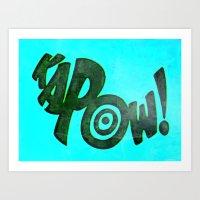 KAPOW! # 1 Art Print