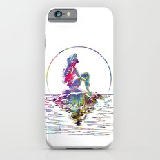 The Little Mermaid Ariel Silhouette Watercolor Slim Case iPhone 6s