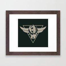 UFO Robot Goldrake Framed Art Print