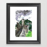 Castelgrande Within Framed Art Print