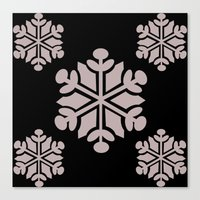 Snowflake 5 Canvas Print