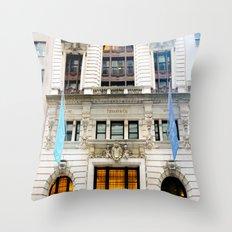 Tiffany's New York City Throw Pillow