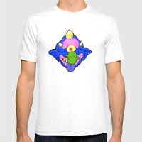 my pet madball Mens Fitted Tee White SMALL
