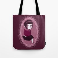 Lonely Girl Tote Bag