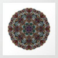 Hallucination Mandala 4 Art Print