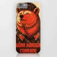 Work Harder, Comrade! iPhone 6 Slim Case