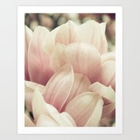 A Waterfall Of Blooms Art Print