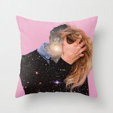 no ideas Throw Pillow