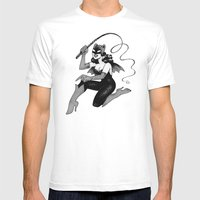 Obey Gerbilgirl! Mens Fitted Tee White SMALL