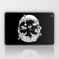 Depth of Discovery (A Case of Constant Curiosity-B/W) Laptop & iPad Skin
