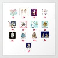 Advent Calendar Day Thir… Art Print