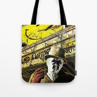 Who Watches The Watchmen? Tote Bag