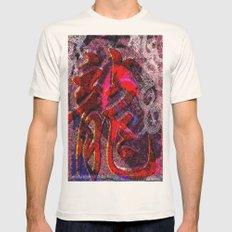 Neon Encyclopedia SMALL Natural Mens Fitted Tee