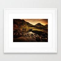 Cumbria Landscape Framed Art Print