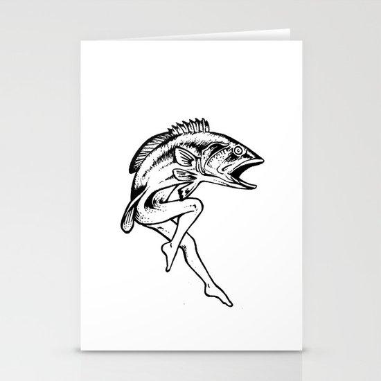 Mermaid Stationery Card