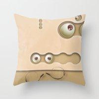mmmmm Throw Pillow