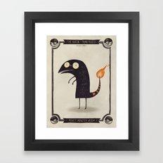 #004 Charmander Framed Art Print
