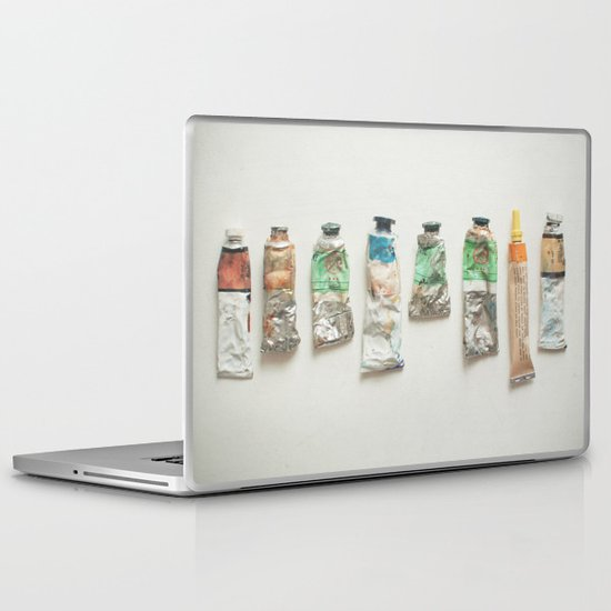Oil Paints Laptop & iPad Skin