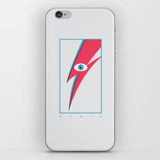 Bowie's Eye iPhone & iPod Skin