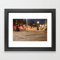 Downtown Blacksburg Chri… Framed Art Print