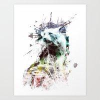 Predation Instinct Art Print