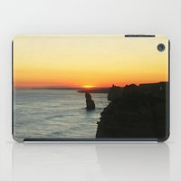 Sunset over the Great Southern Ocean iPad Case