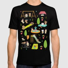Play Mens Fitted Tee Black SMALL
