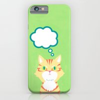 iPhone & iPod Case featuring cat 2-British Shorthairs by leeem