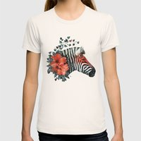 Untamed Womens Fitted Tee Natural SMALL