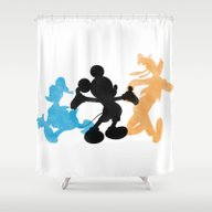 DISNEY MICKEY MOUSE: THE… Shower Curtain