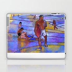 Boogieboarding at Sandy's Laptop & iPad Skin