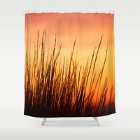 Enjoy the Warmth Shower Curtain