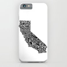 Typographic California Slim Case iPhone 6s