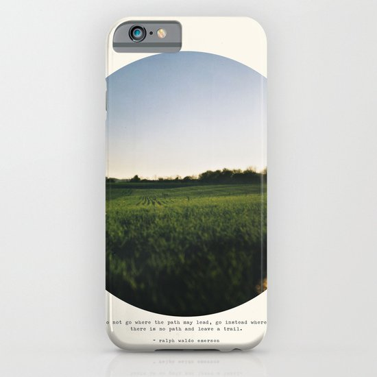 Go Instead iPhone & iPod Case