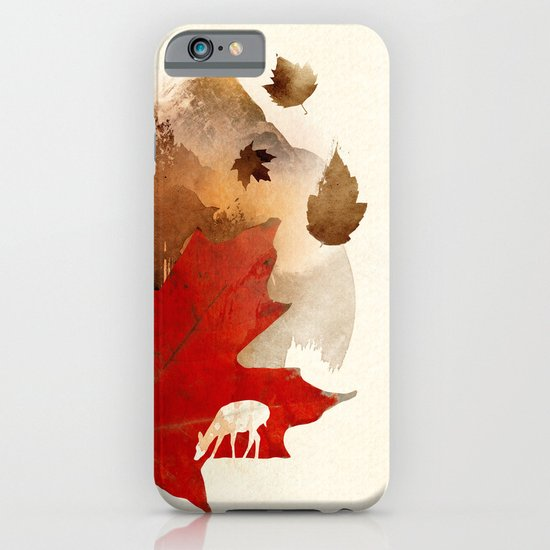 Autmn is coming iPhone & iPod Case