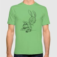 A Little Crooked Mens Fitted Tee Grass SMALL