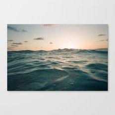 Siesta Sun Canvas Print