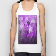 Rose Garden In Shades Of… Unisex Tank Top