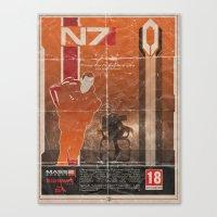 Mass Effect 2 Canvas Print