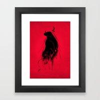 Revenge Of The Toro Framed Art Print