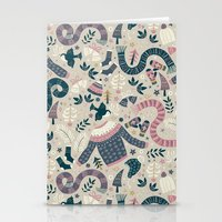 Winter Woolies Stationery Cards