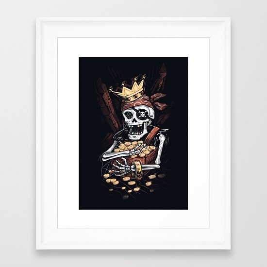 My Treasure Framed Art Print