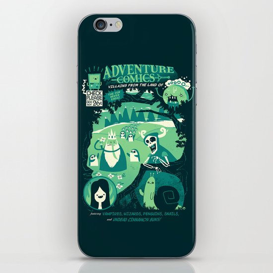 Adventure Comics iPhone & iPod Skin