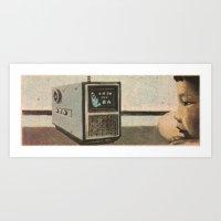 Broadcast Art Print