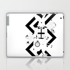 Alice in Wonderland Series - I'm late, I'm late... for a very important date! Laptop & iPad Skin