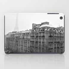 Paris Snow iPad Case