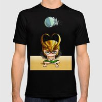 Helmets Are Not For The … Mens Fitted Tee Black SMALL