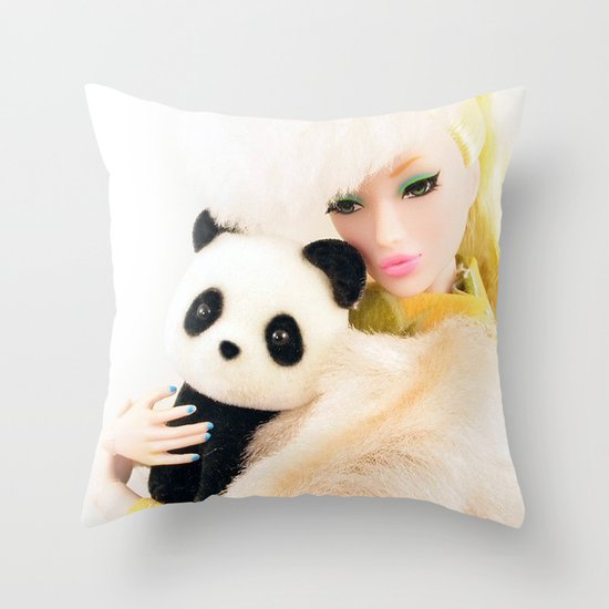 WILD FOR LOVE  Throw Pillow